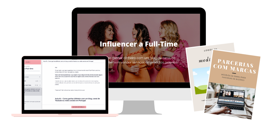 curso influencer a full-time portugal